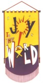 THE 'JOY TO THE WORLD' BANNER