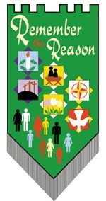 THE 'REMEMBER THE REASON' BANNER