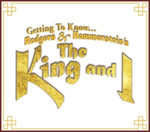 G2K... THE KING AND I
